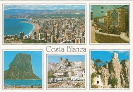 19271- COSTA BLANCA- SEA RESORTS, PANORAMAS, CLIFFS, ABBEY, FOUNTAIN, BEACHES - Alicante
