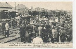 Contich - 21 Mai 1908 - Schrikkelijk Spoorweg Ongeluk - Algemeen Zicht Der Ramp - Kontich