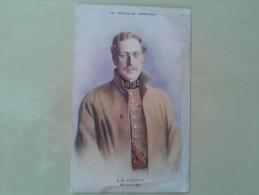 Kleurkaart Koning Albert I Van Belgie - Belgique