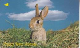 SINGAPORE(GPT) - Funny Farm Animal/Rabbit, CN : 10TFR1001(normal 0), Used - Konijnen