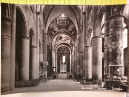 Cart.-     Piacenza - Chiesa di S. Maria di Campagna - + Duomo - Interno.