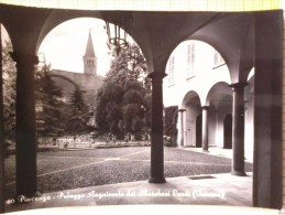 Cart.-     Piacenza - Palazzo Anguissola dei Marchesi Landi- interno.