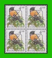 BUZIN - PRE 825** Traquet Pâtre / Roodborsttapuit - CPL+W (witte Gom Blanche) - Sobreimpresos 1986-..(Aves)