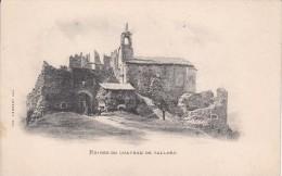 Cp , 05 , TALLARD , Ruines Du Château - France
