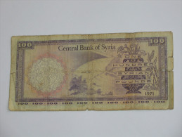 500 Five Hundread Syrian Pounds 1986 - SYRIE - Central Bank Of Syria **** EN ACHAT IMMEDIAT **** - Syrie