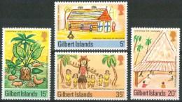 1976 Gambia Infanzia Childhood Enfance Set MNH** B525 - Gambia (1965-...)