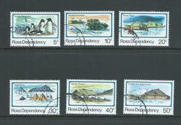 Ross Dependency 1982 25th Anniversary Set 6 VFU - Unclassified