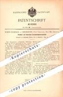Original Patent - Julius Florsch In Gremsdorf / Gromadka ,1894, Ofentür , Liegnitz / Legnica , Post Greulich , Schlesien - Schlesien