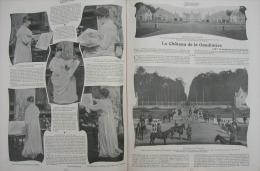 FEMINA1902N°42:CHATEAU DE LA GAUDINIERE DUCHESSE DOUDEAUVILLE/ST-SEBASTIEN MESSE PLEIN-AIR/PEINDRE UN EVENTAIL - Livres, BD, Revues