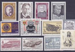 Austria - Ein Bisschen Von Allem - Un Peu De Tout (1979, Eisenbahn- Lions...) - 1945-.... 2ème République