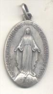 O MARIE CONCUE SANS PECHE PRIEZ POUR NOUS QUI AVONS RECOURS A VOUS MEDAILLE 1830 RARE TBE - Firma's