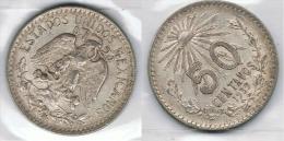 MEXICO 50 CENTAVOS PESO 1939 PLATA SILVER  BONITA - México