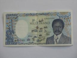 1000 Mille Francs 1990 - GABON - République GABONAISE  **** EN ACHAT IMMEDIAT **** - Gabon
