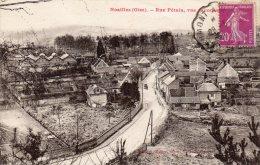 NOAILLES  - Rue Petain  Vue Panoramique - Noailles