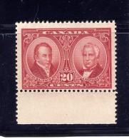 CANADA 1927, MNH #148, KING GEORGE V: HISTORICAL ISSUE,  FINE/VF: BALDWIN & LAFONTAINE  ---- WYSIWYG - Neufs
