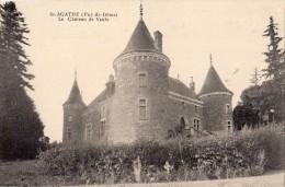 SAINT-AGATHE LE CHATEAU DE VAULX - France