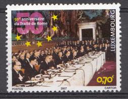 Luxembourg 2007  Mi.nr.:1734  50.Jahre Römische Verträge  Oblitérés / Used / Gestempeld - Oblitérés