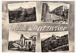SALUTI DA MAZZARINO - CALTANISSETTA - 1962 - Caltanissetta