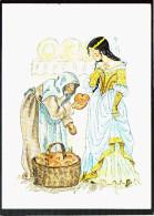0564 Märchen Glückwunschkarte - Schneewittchen - POPP Kunstkarte 0345 - Cottbus - Ohne Zuordnung