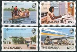 1983 Gambia Telecomunicazioni Telecommuncations Set MNH** B35 - Gambia (1965-...)