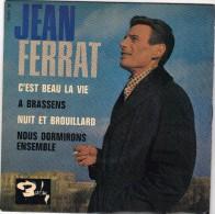 45T EP JEAN FERRAT - Discos De Vinilo