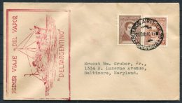 1940 Argentina Buenos Aires 'DELTARGENTINO' Ship Cover - Argentine
