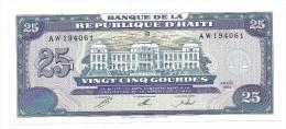 Haiti 25 Gourdes 1993 UNC .S. - Haiti