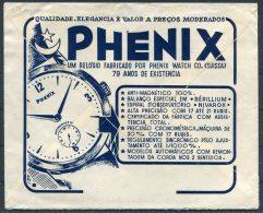 1957 Portugal Lisboa Polycarpo Barbosa Phenix Suisse Swiss Watches Illustrated Airmail Cover - Singen Germany - 1910-... Republic