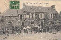 Callac - Le Cleuz-meu, Une Forge - Callac