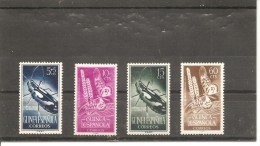 Guinea Española - Edifil 330-33 - Yvert 351-54 (MNH/**) - Guinea Española