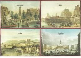 ! - Grandes Villes En Europe Et Afrique - Carnet De 8 Cartes Postales - Vierge ** - Cartes Postales