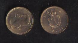 MALTA - ONE CENT 2001 - UNC - Malta