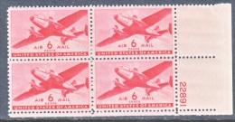 U.S. C 25 X 4  ** - Air Mail