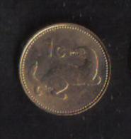 MALTA - ONE CENT  1991 - UNC - Malta