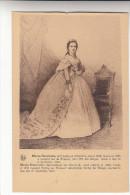 Marie Henriette Archiduchesse D´Autriche, Née Aen 1836 Mariée En 1853 A Léopold Duc De Brabant (pk18265) - Cartes Postales