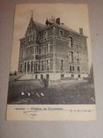 ASSE  -  ASSCHE  -  Kasteel   Vyverbeek  -  Ch�teau de Vyverbeek    -    1903   -  (2  scans)