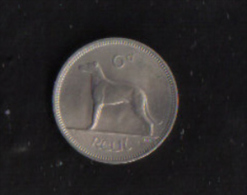 IRELAND -  SIX PENCE COIN 1964 - Ireland