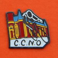Pin´s - C.C.N.O. - Cyclo Club De Nogent Sur Oise - Vélo - Coureur - Wielrennen