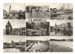 Cp, 17, La Rochelle, Multi-Vues - La Rochelle