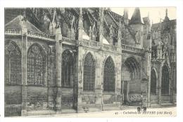 Cp, 58, Nevers, La Cathédrale, Côté Nord - Nevers