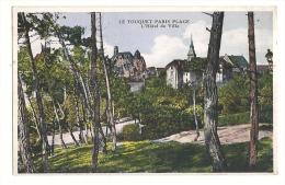 Cp, 62, Le Touquet - Paris-Plage, L'Hôtel De Ville - Le Touquet