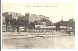 Cp, 69, Lyon, Fort Saint-Jean, La Saône Et Fourvière, écrite 1917 ? - Other