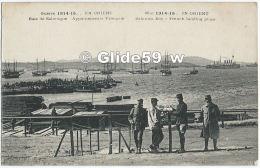 Guerre 1914-15… En Orient - Baie De Salonique - Appontements Français (animée) - Guerra 1914-18