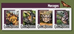 gb15421a Guinea Bissau 2015 Bats s/s