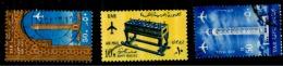 Egypte Scott N°C104.107.NC36.oblitérés - Posta Aerea