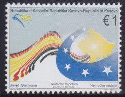 Kosovo, 2009, Friendship Between Kosovo And Germany, MNH (**) Michel 141 - Kosovo