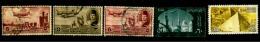 Egypte Scott N°C65.40.41.93.171..oblitérés - Posta Aerea