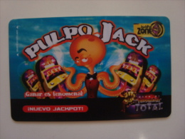 MEXICO - CASINO CARD - PULPO JACK