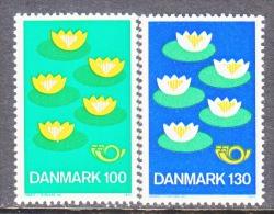 DENMARK   597-8  **   NORDIC CO--OP  LILIES - Denmark
