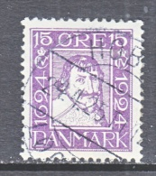 DENMARK    170    (o) - Used Stamps